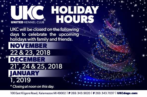 UKC Holiday Hours