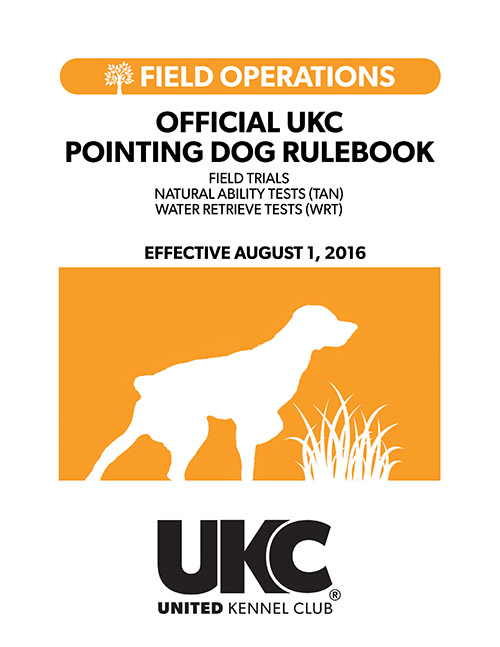 Pointing Dog Rulebook