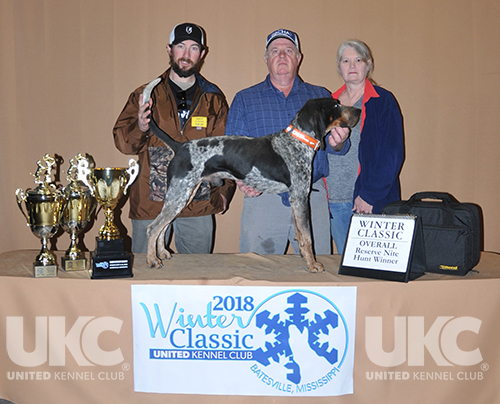 Winter Classic Overall Reserve Hunt Winner