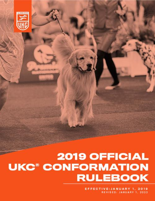 UKC Conformation Rulebook