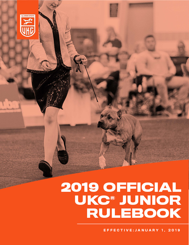2019 Junior Rulebook